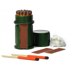 Kit 25 allumettes de survie - vert
