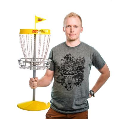 Discatcher Mini Disc Golf Set