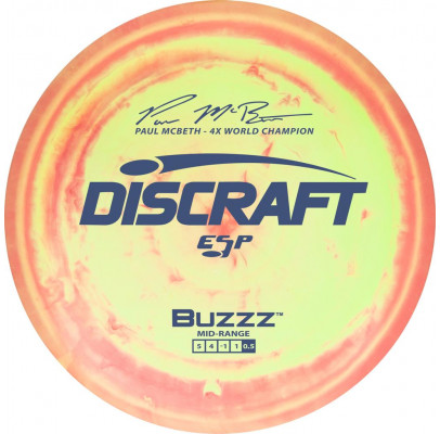 Buzzz ESP Paul Mcbeth 1st Run 5|4|-1|1